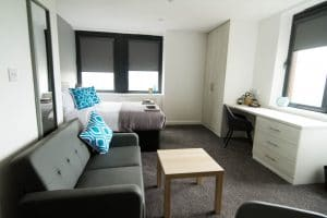 stylish studio apartment to rent in Wolverhampton