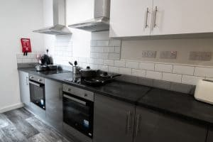 co-living kitchen studio apartments Wolverhampton