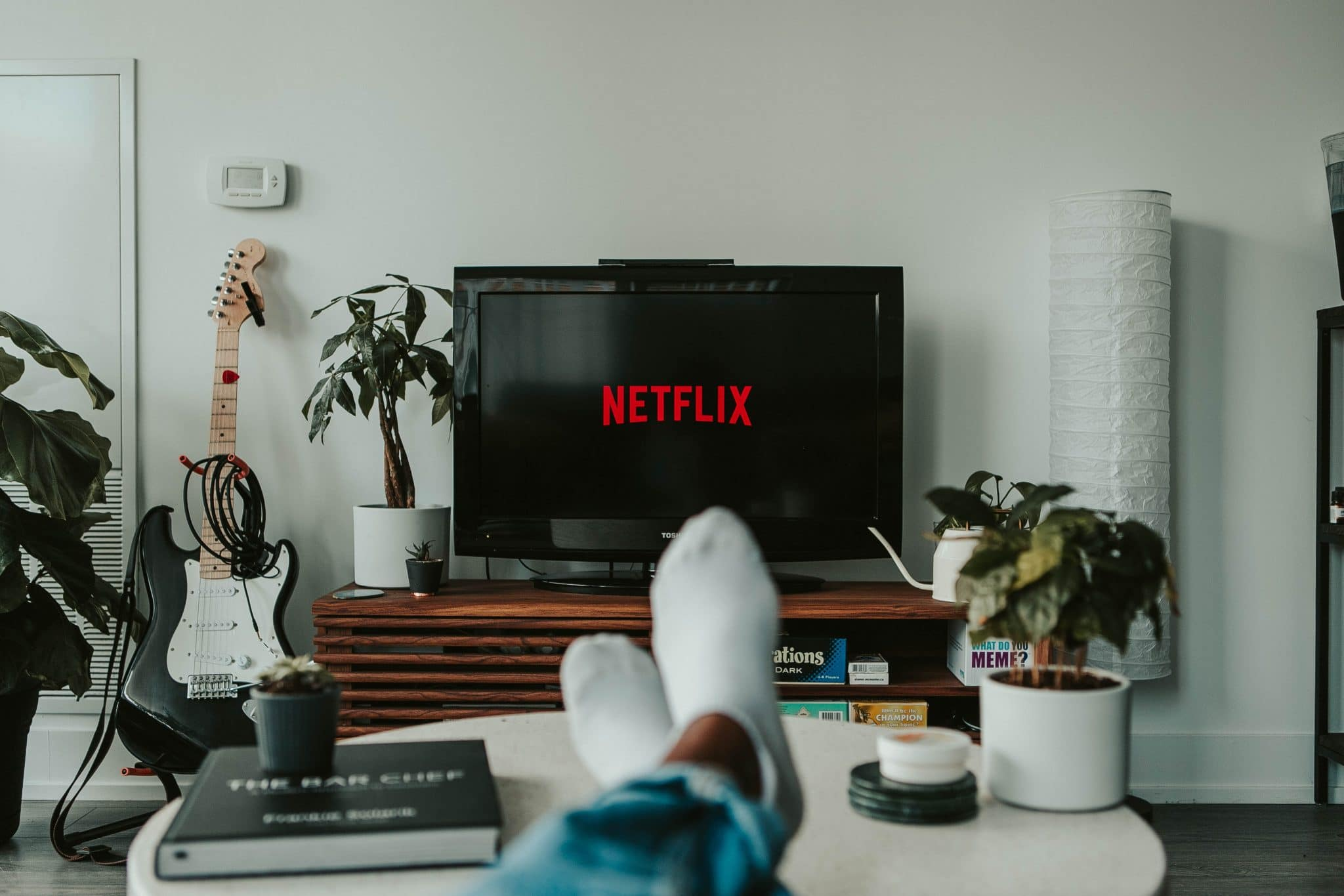 Watching Netflix on TV