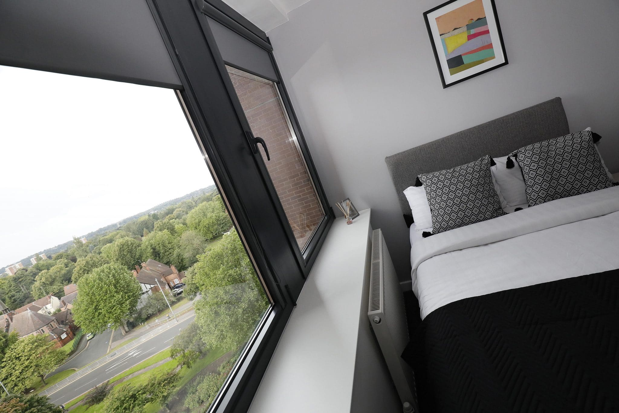 Window View from Studio Flat