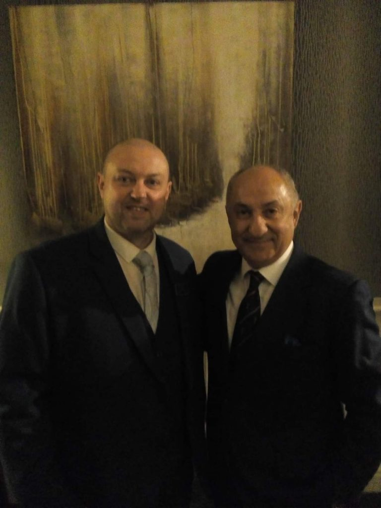 Osvaldo Ardiles – Argentinian World Cup and ex-Tottenham player at my hotel